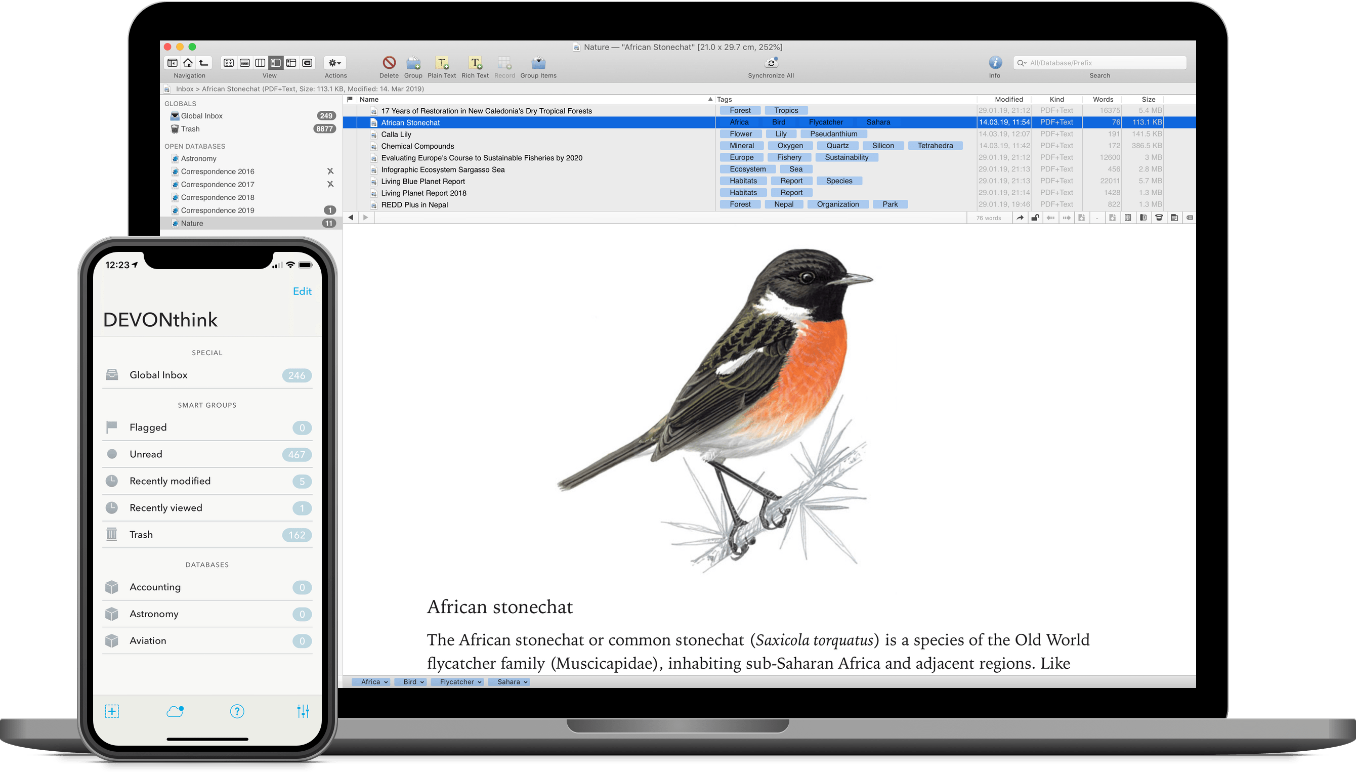 DEVONthink 2.11.3 adds MultiMarkdown 6, CriticMarkup, and more Image